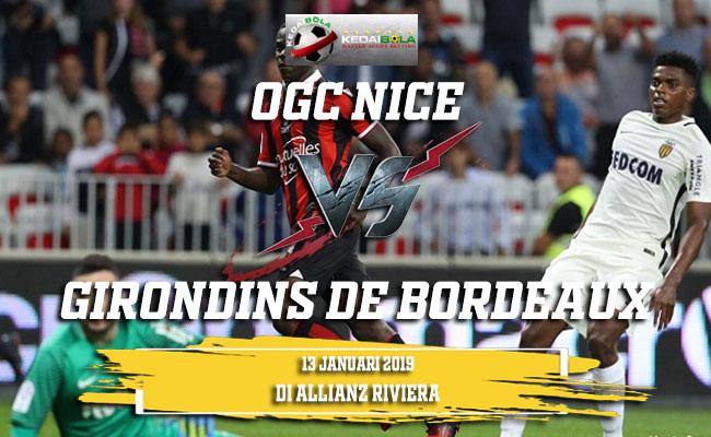 Prediksi OGC Nice Vs Girondins de Bordeaux 13 Januari 2019