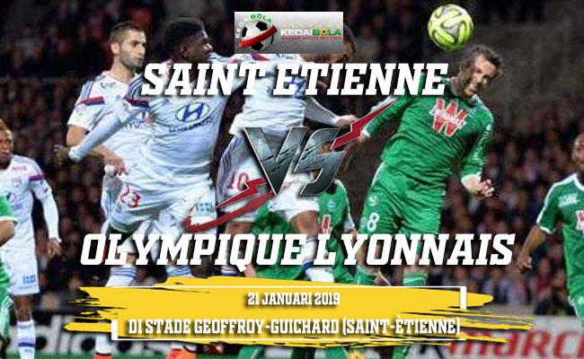 Prediksi Saint Etienne Vs Olympique Lyonnais 21 Januari 2019