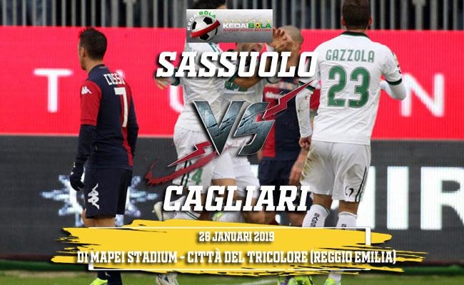 Prediksi Sassuolo Vs Cagliari 26 Januari 2019