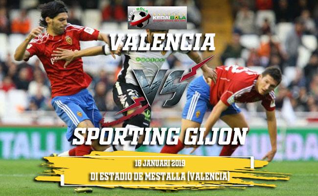 Prediksi Valencia Vs Sporting Gijon 16 Januari 2019
