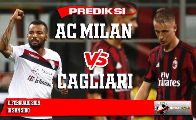Prediksi AC Milan vs Cagliari 11 Februari 2019