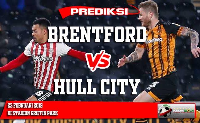 Prediksi Brentford vs Hull City 23 Februari 2019