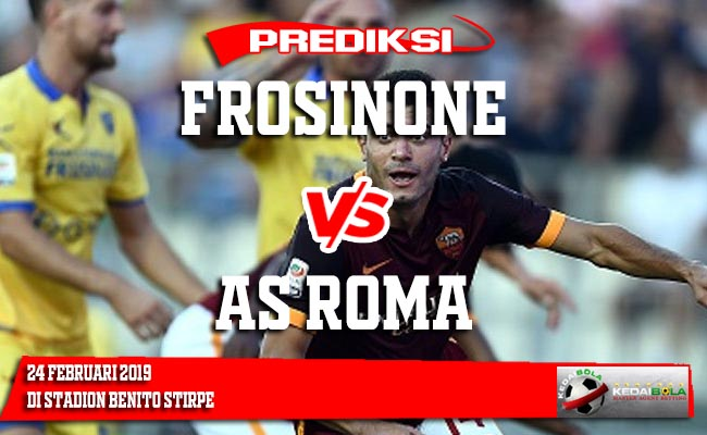 Prediksi Frosinone vs AS Roma 24 Februari 2019
