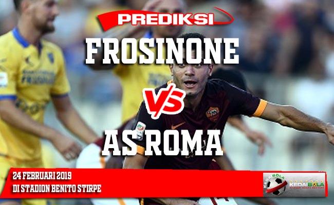 Prediksi Frosinone vs AS Roma 24 Februari 2019