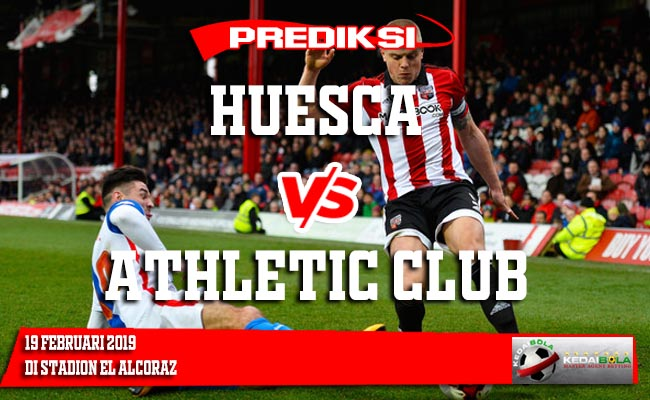Prediksi Huesca vs Athletic Club 19 Februari 2019