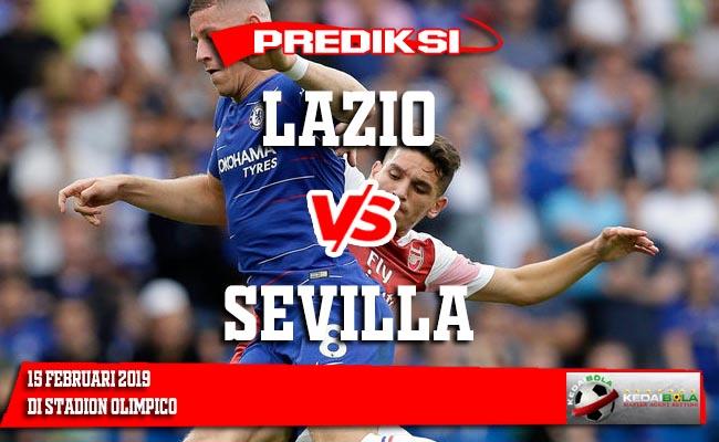 Prediksi Lazio vs Sevilla 15 Februari 2019