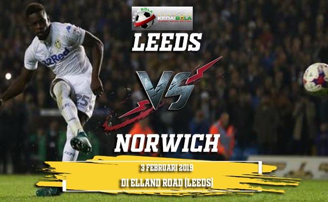 Prediksi Leeds vs Norwich 3 Februari 2019