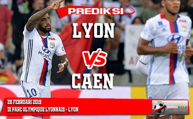 Prediksi Lyon vs Caen 28 Februari 2019