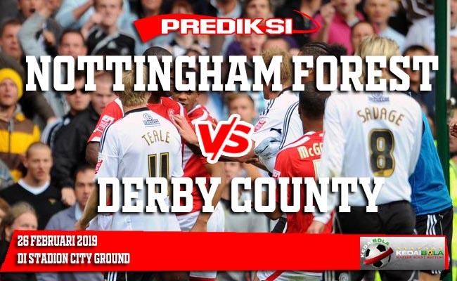 Prediksi Nottingham Forest vs Derby County 26 Februari 2019