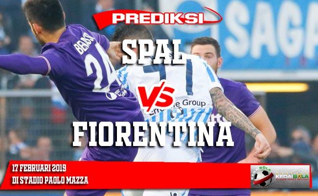 Prediksi SPAL vs Fiorentina 17 Februari 2019