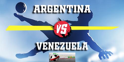 Prediksi Argentina vs Venezuela 23 Maret 2019