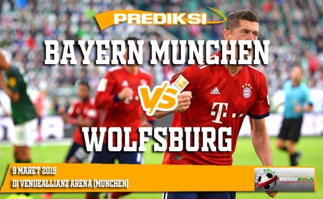 Prediksi Bayern Munchen vs Wolfsburg 9 Maret 2019