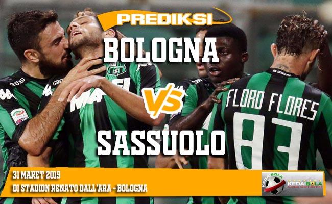 Prediksi Bologna vs Sassuolo 31 Maret 2019