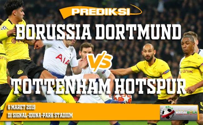 Prediksi Borussia Dortmund vs Tottenham Hotspur 6 Maret 2019