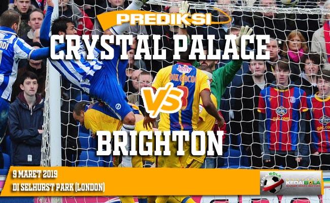 Prediksi Crystal Palace vs Brighton 9 Maret 2019