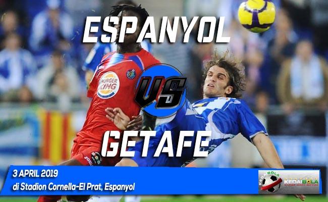 Prediksi Espanyol vs Getafe 3 April 2019