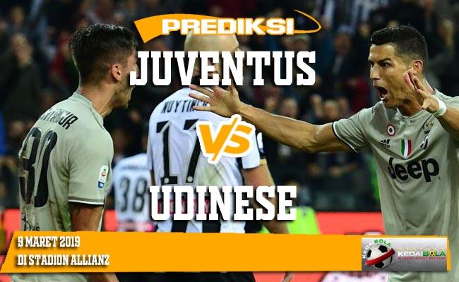 Prediksi Juventus vs Udinese 9 Maret 2019