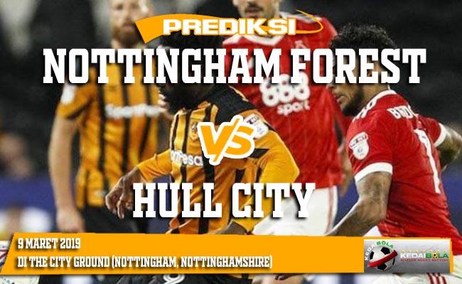 Prediksi Nottingham forest vs Hull city 9 Maret 2019