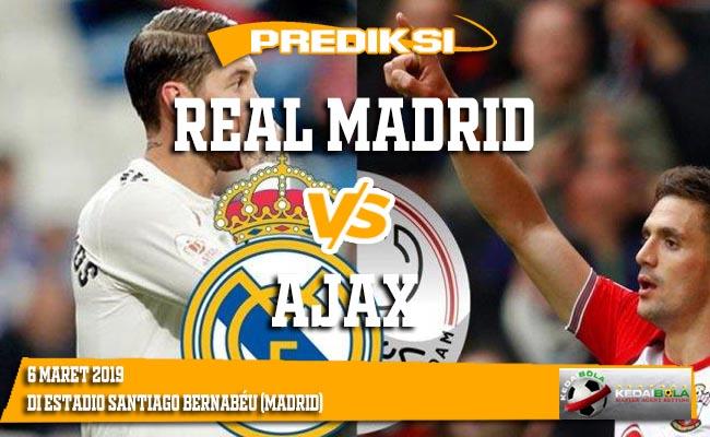 Prediksi Real Madrid vs Ajax 6 Maret 2019