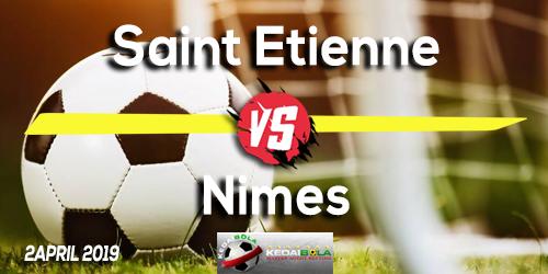 Prediksi Saint Etienne vs Nimes 2 April 2019