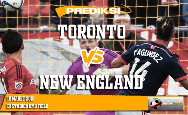 Prediksi Toronto vs New England 18 Maret 2019
