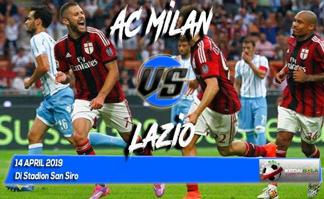 Prediksi AC Milan vs Lazio 14 April 2019