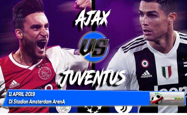 Prediksi Ajax vs Juventus 11 April 2019