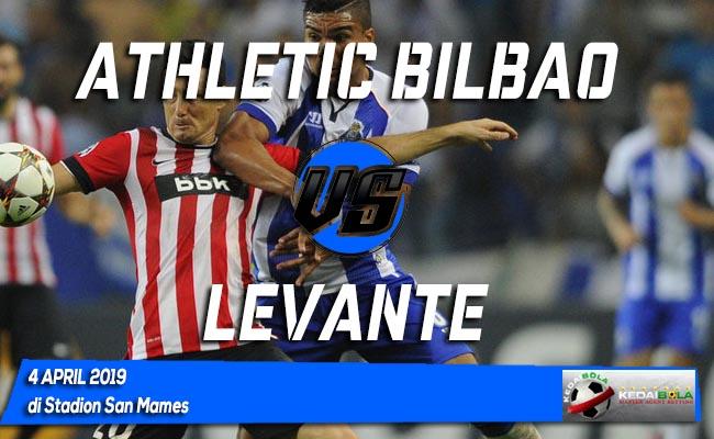 Prediksi Athletic Bilbao vs Levante 4 April 2019