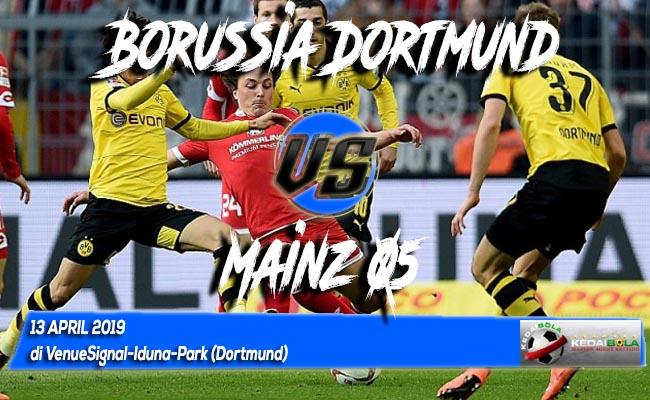 Prediksi Borussia Dortmund vs Mainz 05 13 April 2019
