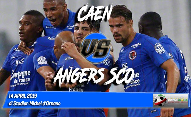 Prediksi Caen vs Angers SCO 14 April 2019