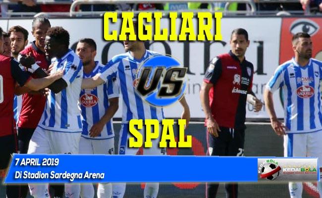 Prediksi Cagliari vs SPAL 7 April 2019