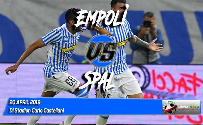 Prediksi Empoli vs SPAL 20 April 2019