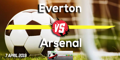 Prediksi Everton vs Arsenal 7 April 2019