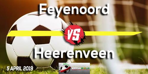 Prediksi Feyenoord vs Heerenveen 5 April 2019