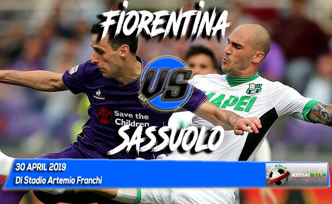 Prediksi Fiorentina vs Sassuolo 30 April 2019