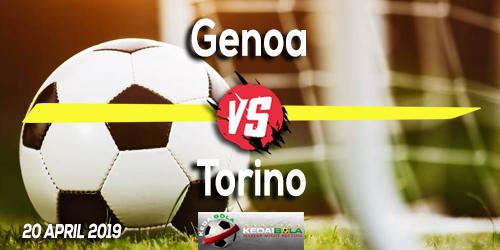 Prediksi Genoa vs Torino 20 April 2019