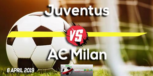 Prediksi Juventus vs AC Milan 6 April 2019