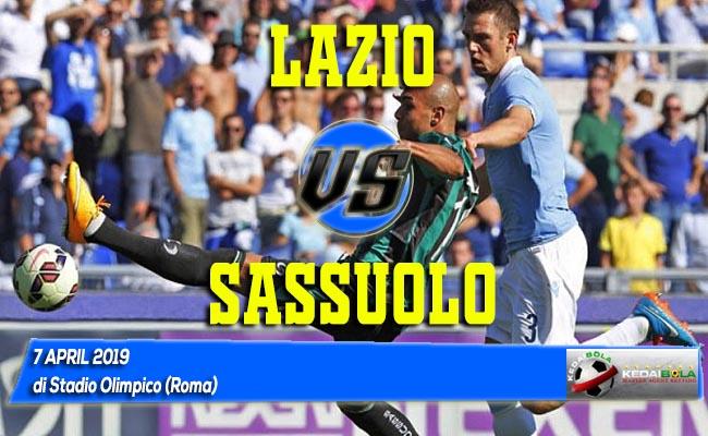Prediksi Lazio vs Sassuolo 7 April 2019