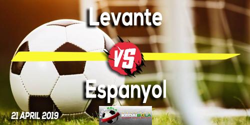 Prediksi Levante vs Espanyol 21 April 2019