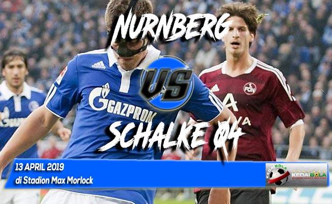 Prediksi Nurnberg vs Schalke 04 13 April 2019