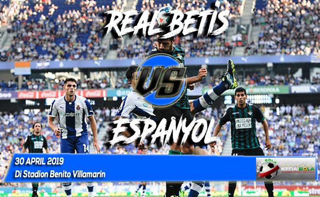 Prediksi Real Betis vs Espanyol 30 April 2019