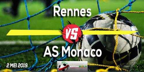 Prediksi Rennes vs AS Monaco 2 Mei 2019