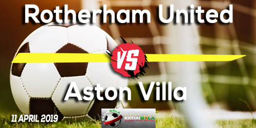 Prediksi Rotherham United vs Aston Villa 11 April 2019