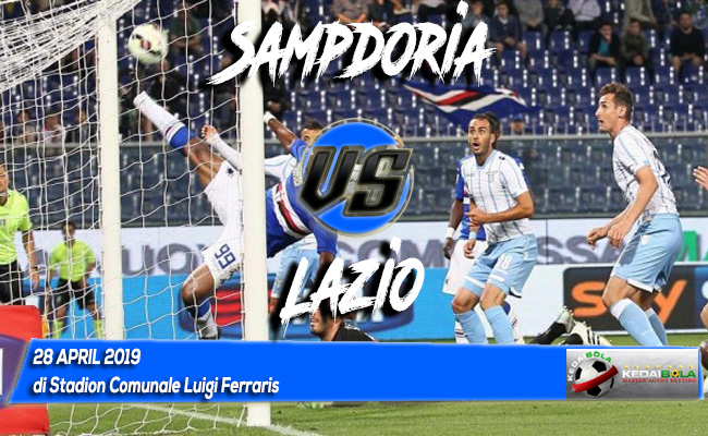 Prediksi Sampdoria vs Lazio 28 April 2019