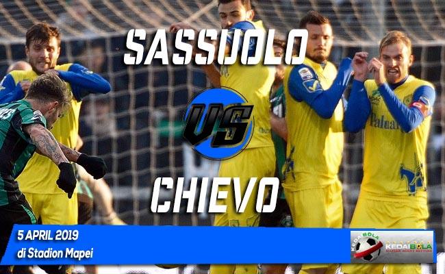 Prediksi Sassuolo vs Chievo 5 April 2019
