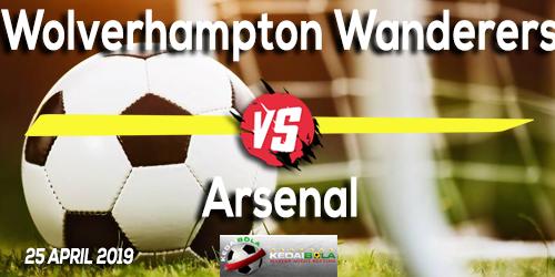 Prediksi Wolverhampton Wanderers vs Arsenal 25 April 2019