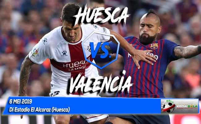 Prediksi Huesca vs Valencia 6 Mei 2019