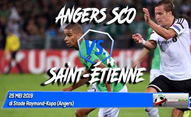 Prediksi Angers SCO vs Saint-Étienne 25 Mei 2019