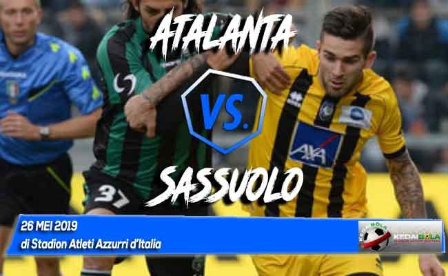 Prediksi Atalanta vs Sassuolo 26 Mei 2019