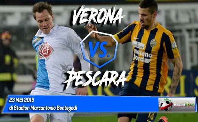 Prediksi Verona vs Pescara 23 Mei 2019
